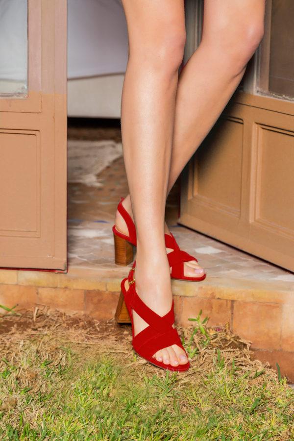 Audrey rouge
